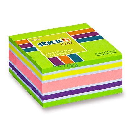 Obrázek produktu Hopax Stick'n Neon Notes - samolepicí bloček - 76 × 76 mm, 400 l., zelený
