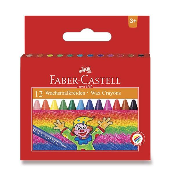 Voskovky Faber-Castell 120043 12 barev