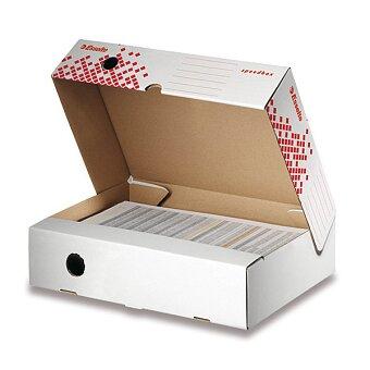 Obrázek produktu Archivační krabice Speedbox Esselte - horizontální, hřbet 80 mm
