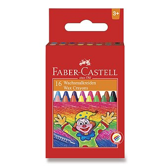 Obrázek produktu Voskovky Faber-Castell - 16 barev