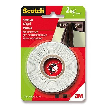 Obrázek produktu 3M Scotch - oboustranná montážní páska - 19 mm × 1,5 m