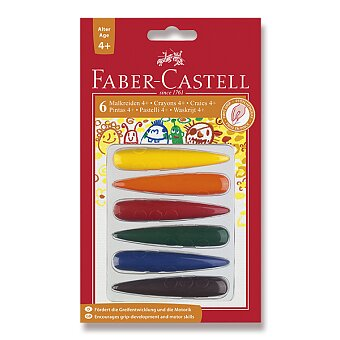Obrázek produktu Pastelky Faber-Castell plastové - 6 barev