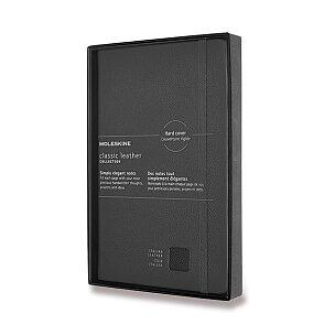 Zápisník Moleskine kožený - tvrdé desky