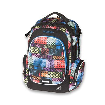 Obrázek produktu Školní batoh Walker Campus Wizzard Wacky Brick