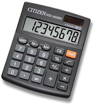 Obrázek produktu Stolní kalkulátor Citizen SDC-805BN