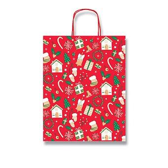 Obrázek produktu Dárková taška Sadoch Fantasia Christmas - výběr rozměrů