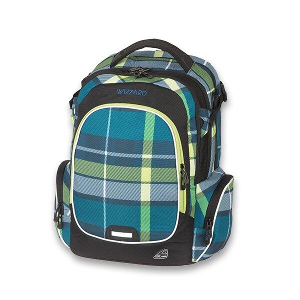 Školní batoh Walker Campus Wizzard Lemon Square 55a747d575