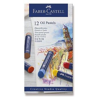Obrázek produktu Olejové pastely Faber-Castell - 12 barev