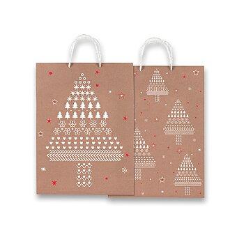 Obrázek produktu Vánoční dárková taška Stampa a Caldo - výběr rozměrů