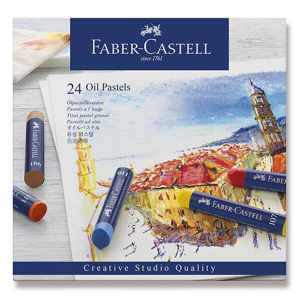 Olejové pastely Faber-Castell 24 barev