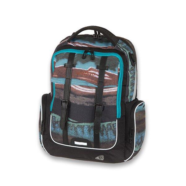 Školní batoh Walker Academy Wizzard Blue Pile