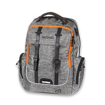 Obrázek produktu Školní batoh Walker Academy Wizzard Grey Melange