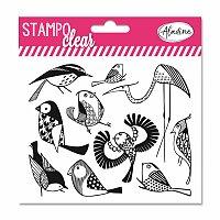 Razítka gelová Stampo Clear - Ptáčci
