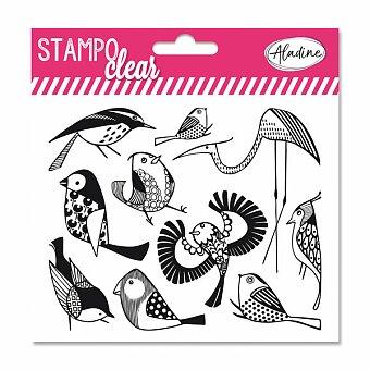 Obrázek produktu Razítka gelová Stampo Clear - Ptáčci