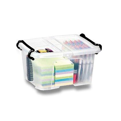 Obrázek produktu CEP Strata - úložný box s víkem - objem 6 l