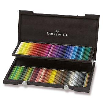 Obrázek produktu Pastelky Faber-Castell Polychromos - dřevěná kazeta, 120 barev