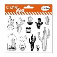 Razítka gelová Stampo Clear - Kaktusy