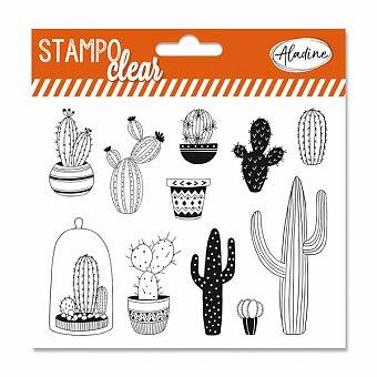Obrázek produktu Razítka gelová Stampo Clear - Kaktusy