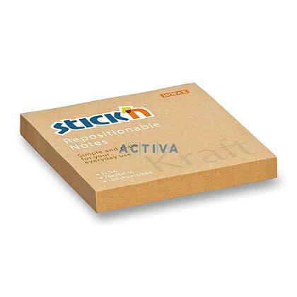 Obrázek produktu Hopax Stick'n Kraft - samolepicí bloček - 76 × 76 mm, 100 l.