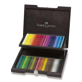 Obrázek produktu Pastelky Faber-Castell Polychromos 110072 - dřevěná kazeta, 72 barev