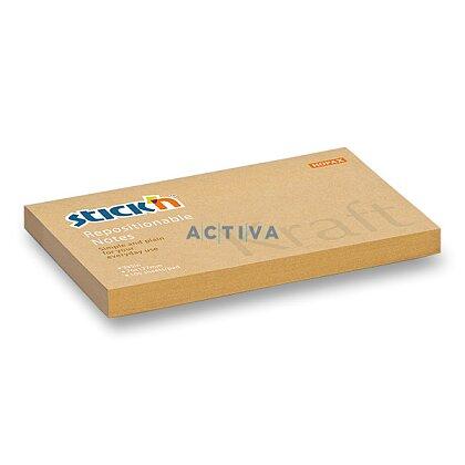 Obrázek produktu Hopax Stick'n Kraft - samolepicí bloček - 76 × 127 mm, 100 l
