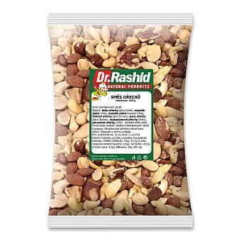 Obrázek produktu Směs ořechů natural Dr. Rashid - 500 g