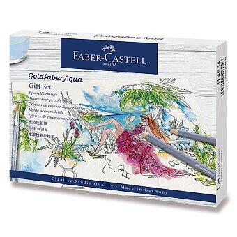Obrázek produktu Akvarelové pastelky Faber-Castell Goldfaber Aqua - dárková sada, 18 ks