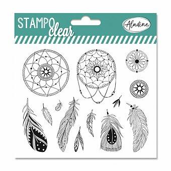 Obrázek produktu Razítka gelová Stampo Clear - Lapač snů