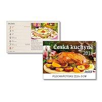 Česká kuchyně 2018 - stolní obrázkový kalendář