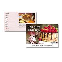 Rok plný sladkostí 2018 - stolní obrázkový kalendář