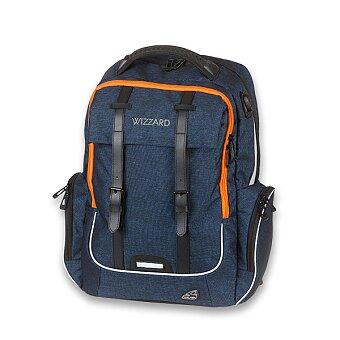 Obrázek produktu Školní batoh Walker Academy Wizzard Dark Blue Melange
