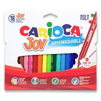 Obrázek produktu Dětské fixy Carioca Joy - 18 barev