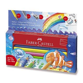 Obrázek produktu Pastelky Faber-Castell Jumbo Grip - mořský svět, 9 ks