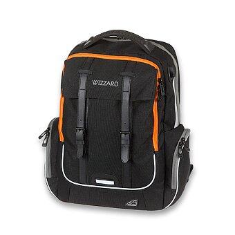 Obrázek produktu Školní batoh Walker Academy Wizzard Black Melange