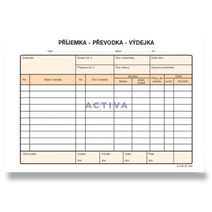 Obrázek produktu Optys - příjemka, převodka, výdejka