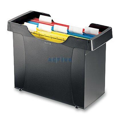 Obrázek produktu Leitz Plus - stolní zásobník na závěsné desky - černý