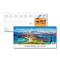 Obrázky ze světa/Obrázky zo sveta 2018 - stolní obrázkový kalendář