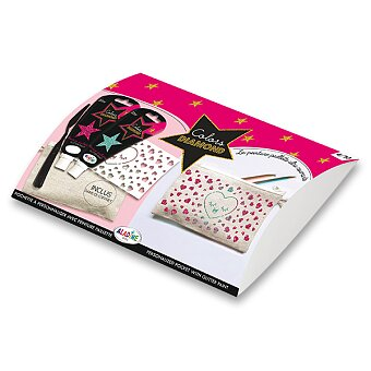 Obrázek produktu Diamantová kreativní sada Aladine - Srdíčko, 5 ks