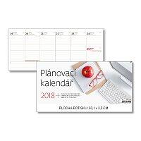Plánovací kalendář 2018 - stolní pracovní kalendář