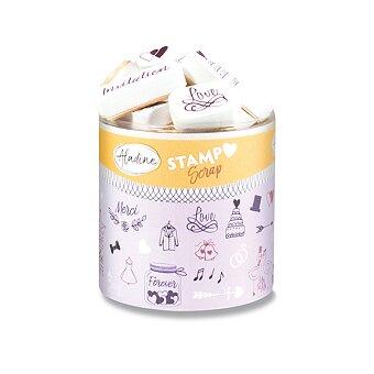 Obrázek produktu Razítka Stampo Scrap - Svatební, 43 ks