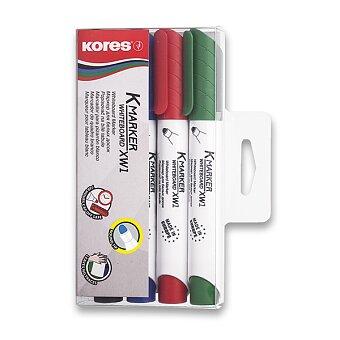 Obrázek produktu Popisovač Kores K-Marker Whiteboard - sada 4 barev
