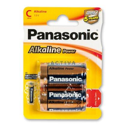 Obrázek produktu Panasonic Alkaline power - baterie - C, 2 ks