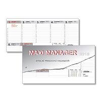 Maxi Manager 2018 - stolní pracovní kalendář