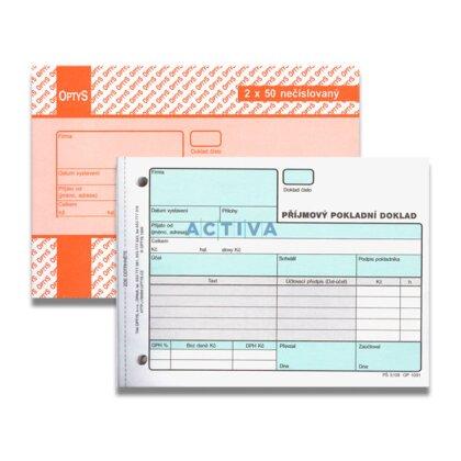 Obrázek produktu Optys - příjmový pokladní doklad