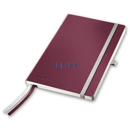 Obrázek produktu Leitz Style - zápisník - A5, granátově červený