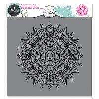Plastová šablona AladinE - Mandala