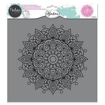 Obrázek produktu Plastová šablona AladinE - Mandala - 28 x 28 cm