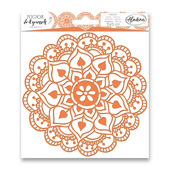 Obrázek produktu Plastová šablona AladinE - Mandala - 15 x 15 cm
