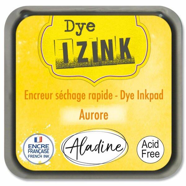 Razítkovací polštářek Izink Dye rychleschnoucí žlutá