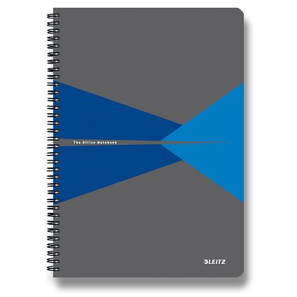 Product image Leitz Office - spiral notebook - A5, 90 s., Lined, blue